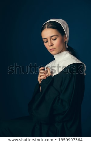 Young woman in corset Stock photo © lubavnel