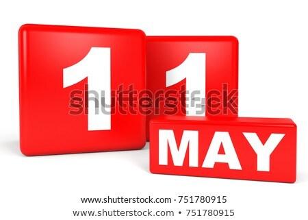 Cubes 11th May Stock photo © Oakozhan