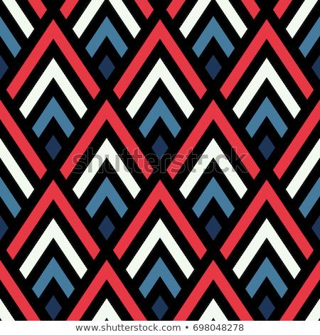 geometric dark pattern made with lines Stock photo © SArts