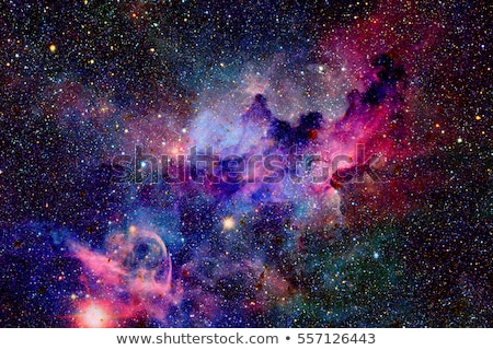 Nebula and galaxies in space. Elements of this image furnished b Stock photo © NASA_images