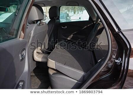 Yeni araç içinde temizlemek araba iç siyah Stok fotoğraf © ruslanshramko
