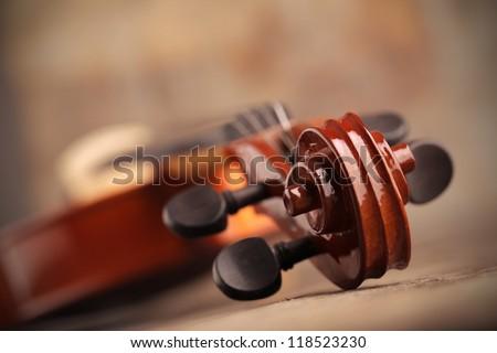 Violin close up  Stock photo © homydesign