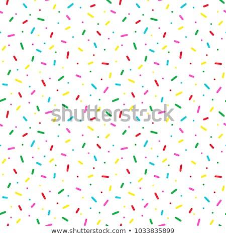 Donut Sprinkle Stock photo © hlehnerer
