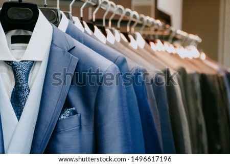 shirts and neckties in shop Stock photo © Paha_L