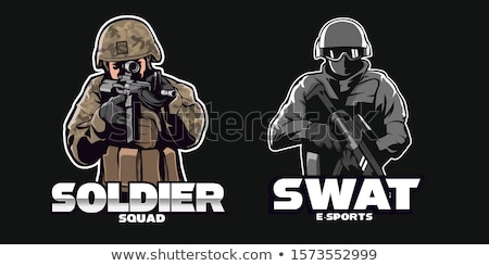 Swat soldier  Stock photo © Fernando_Cortes