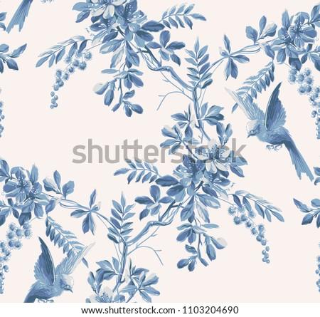 Vízfesték kézzel rajzolt madár növények papír fa Stock fotó © cherju