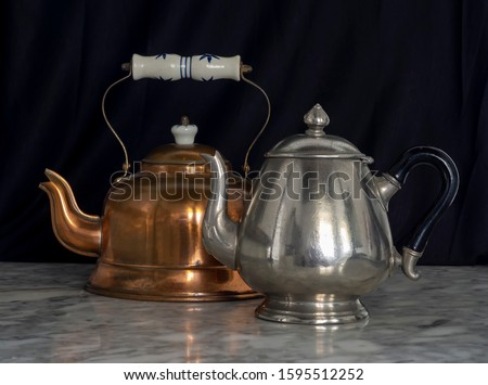 Antiquarian silver cup Stock photo © yul30