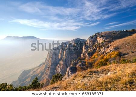 crimea mountain demerdzhi stock photo © hermione