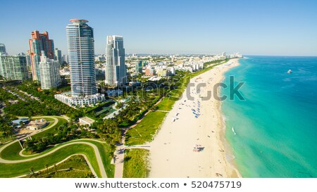 mar · playa · Florida · océano · norte - foto stock © meinzahn
