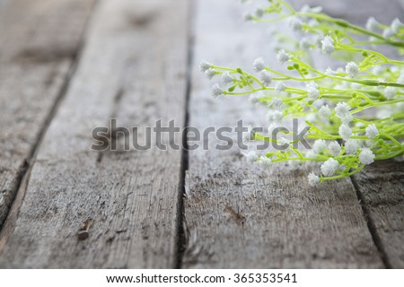 Small bouquet of wildflowers on a rustic table Stock photo © dashapetrenko