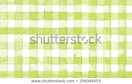 Vintage lime country checkered background. Stock photo © sfinks
