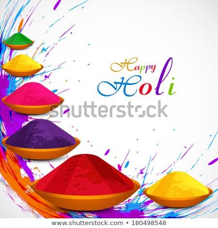 Mooie indian festival kleurrijk grunge auto Stockfoto © bharat