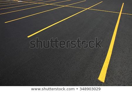 車 · 駐車場 · 道路標識 · 無効になって · 屋外 · トラフィック - ストックフォト © meinzahn