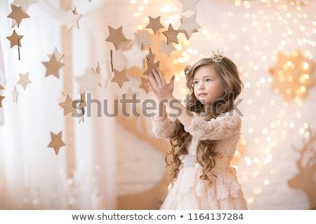 女性 · クリスマス · 装飾 · 画像 · 顔 · セクシー - ストックフォト © nejron