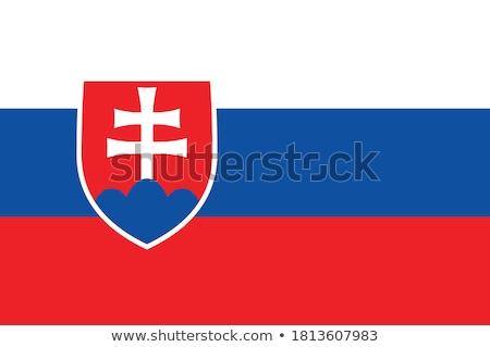 Словакия · политический · карта · Братислава · важный - Сток-фото © mayboro1964