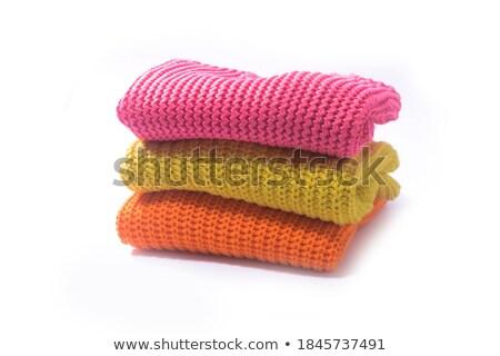 gray woolen sweater Stock photo © ozaiachin