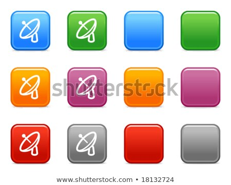 Satellite Dish Sign Pink Vector Button Icon Stock photo © rizwanali3d