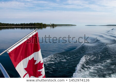 Canada and Wake Island Flags Stock photo © Istanbul2009