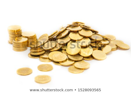 Pile of golden coins Stock photo © bluering