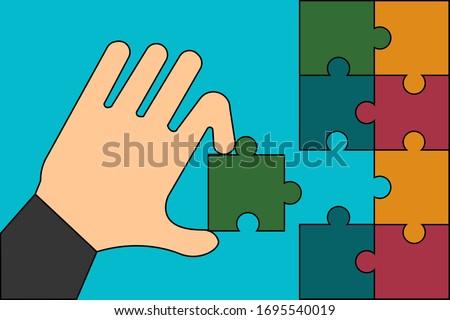 Color mind vector illustration clip-art image eps Stock photo © vectorworks51