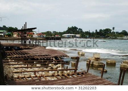 Stockfoto: Marking Done In Costa Rica