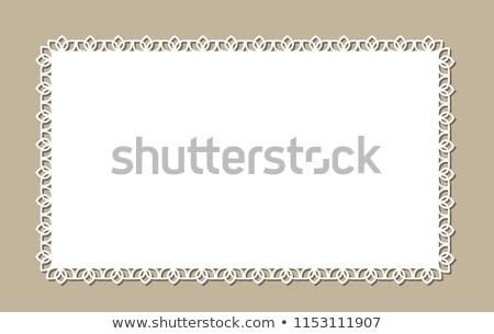 Stok fotoğraf: Beyaz · tığ · işi · yer · model · temizlemek · nesne