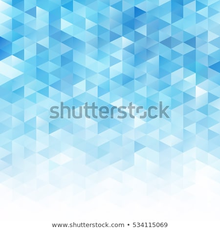 abstract blue tiles mosaic background design Stock photo © SArts