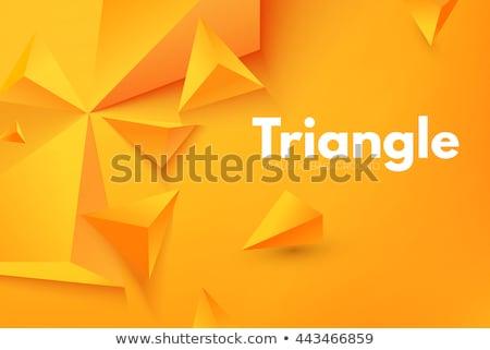 Soyut üçgen biçim şık arka plan tanıtım Stok fotoğraf © SArts