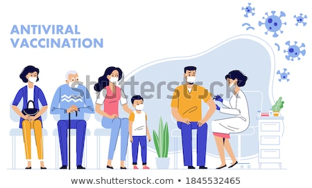 Syringe for People Injections Vector Illustration Stock photo © robuart
