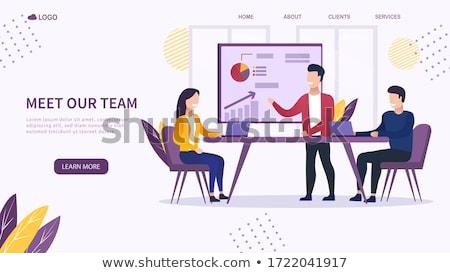 Business meeting vector concept metaphor Stock photo © RAStudio
