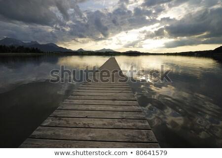 Lake Hopfsee Zdjęcia stock © manfredxy