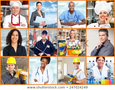 Collage of occupations Stock photo © photography33