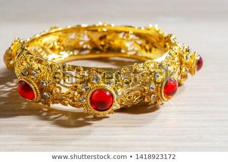 antique garnet bracelet Stock photo © Sarkao