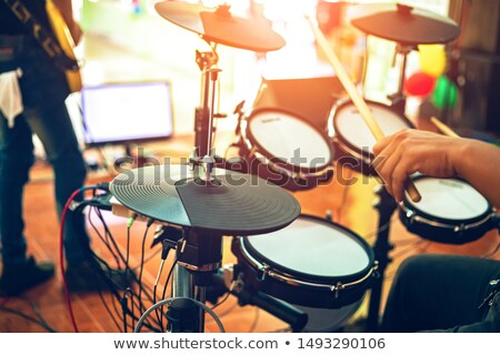 Modern electric drum Stock photo © ozaiachin