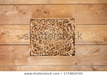 box of shredded paper Stock photo © willeecole