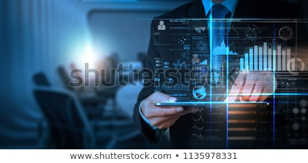 Monitoring the business performance concept of investment and business growth Stock photo © johnkwan
