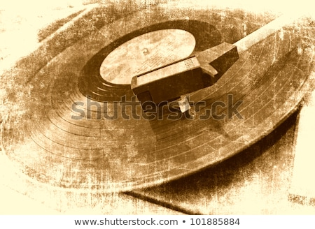 Grunge Vinyl Music Background Stock photo © maxmitzu