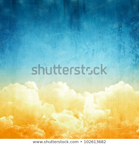 Dark yellow grunge background texture in watercolors Stock photo © jarenwicklund