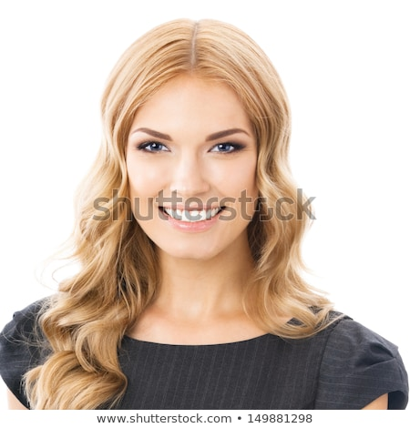 blondie woman portrait Stock photo © chesterf