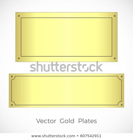 two gold screw stock photo © nemalo