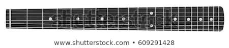 Guitare vue bois fil Photo stock © russwitherington