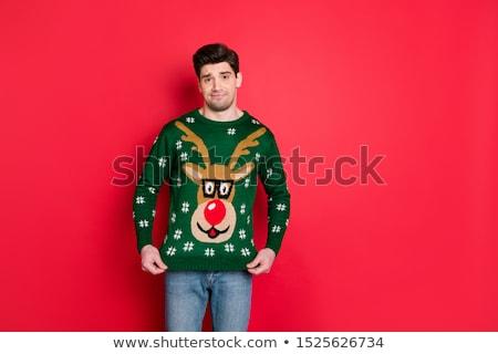 man upset with his gift Stock photo © ichiosea