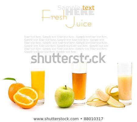 Bolinho isolado branco comida fruto Foto stock © natika