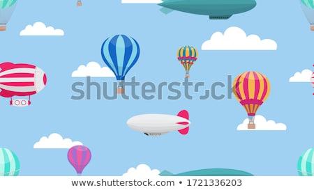 balloons and airship Stock photo © mayboro1964