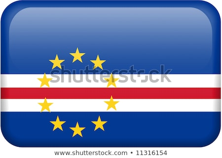 square icon with flag of cape verde stock photo © mikhailmishchenko