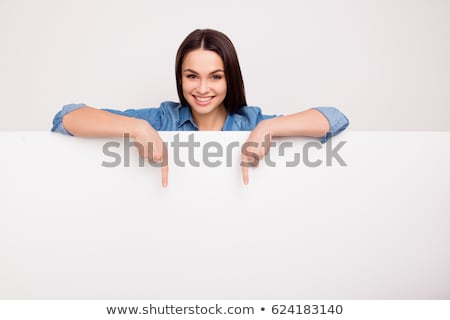 Pointing Down Stock photo © Suljo