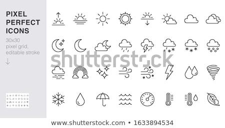 Sun line icon. Stock photo © RAStudio