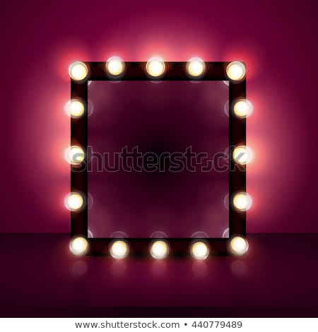 Make Up mirror icon stock photo © angelp