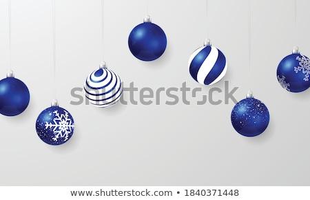 синий безделушка Рождества круга Сток-фото © IS2