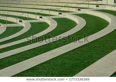Curvy concrete path Stock photo © bobkeenan